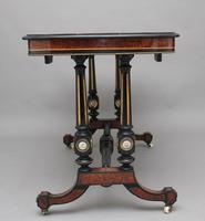 19th Century Amboyna & Ebonised Sofa Table (4 of 11)