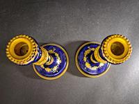 Pair of Porcelain & Ormolu Candlesticks (5 of 5)