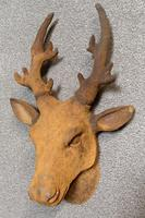 Cast Iron Stags Head, Cast Iron Garden Ornament (3 of 7)