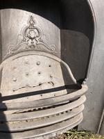 Antique Victorian Cast Iron Fireplace Insert (2 of 4)