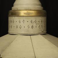 English Single Light Polychrome Lantern (7 of 10)
