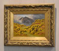 Oil Painting of Mount Snowdon by Alfred Oliver (2 of 8)