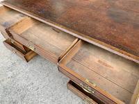Huge Antique Victorian Oak Partners Desk (10 of 24)