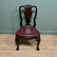 Set of 8 Edwardian Antique Walnut Dining Chairs (2 of 13)