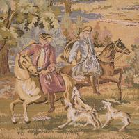 Large Antique Panoramic Tapestry, French, Needlepoint, Decorative Panel c.1910 (5 of 12)