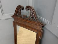 Chippendale Style Mahogany Mirror (6 of 6)