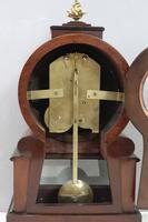English George IV Mahogany Bracket Clock by L.Marks (8 of 8)