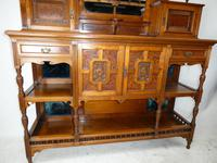 English 19th Century Walnut & Amboyna Cabinet (10 of 11)
