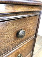 Early 20th Century Oak Kneehole Desk (9 of 14)