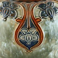 Large Royal Doulton Salt Glazed Vase (3 of 8)