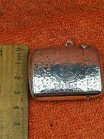 Antique Sterling Silver Hallmarked Vesta Case 1910, Samuel M Levi (8 of 9)