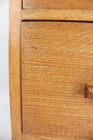 Art Deco Limed Oak Chest of Drawers (13 of 13)