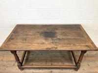 18th Century Antique Joined Oak Table (4 of 10)