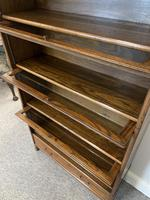 Antique Oak Stacking Lawyer's Bookcase (13 of 16)