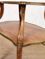 French Etagere 19th Century Bookcase Shelves Whatnot Kingwood (14 of 14)