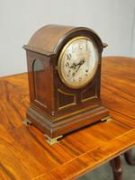 Inlaid Mahogany Mantel Clock by Hamilton & Inches (2 of 5)