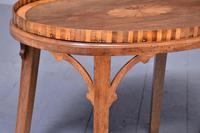 Georgian-style Inlaid Mahogany Tray on Stand (2 of 5)
