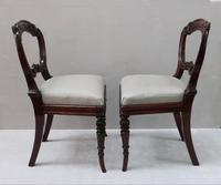 Pair of Regency Simulated Rosewood Chairs Attributed to Gillows (9 of 9)