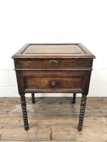 Early 19th Century Oak Box on Stand (8 of 12)