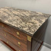 French Empire Commode with Gilt Lions Paw Feet (6 of 10)