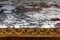 Mid 19th Century Oak & Parcel Gilt Side Table (7 of 7)