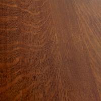 Oak Gateleg Dining Table Carved Solid Folding Kitchen Table (9 of 15)