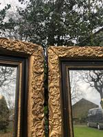 Pair of Antique English Gilt Framed Mirrors (2 of 5)