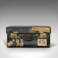 Antique Travel Case, Leather, Salesman's Suitcase, JW Allen, Strand, Edwardian (3 of 12)