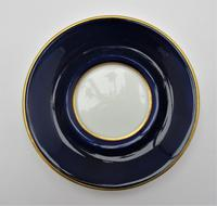 Aynsley Bone China Coffee Cup & Saucer, Silver Mount, James Dixon & Sons Ltd, Sheffield 1919 (7 of 8)