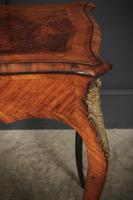 Stunning Walnut Bureau Plat Table (13 of 13)