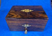Victorian Rosewood Jewellery Box with Mother of Pearl & Abalone Escutcheons (6 of 14)