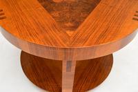 Art Deco Inlaid Walnut Coffee Table (7 of 9)