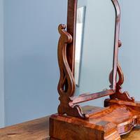 Large Victorian Dresser Mirror (4 of 10)