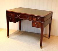 Large Mahogany Writing Desk (8 of 11)