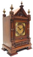 Superb Antique Solid Walnut 8-day Mantel Clock Ting Tang Striking Bracket Clock by W&H (4 of 12)