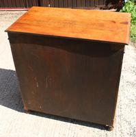 1940s 3 Drawer Oak Chest of Drawers (4 of 4)