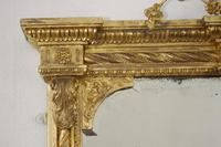 19th Century Gilt Overmantle Mirror with Bevelled Plate (8 of 12)