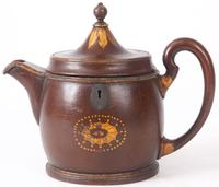 Very Rare Teapot Shaped Tea Caddy