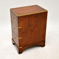 Burr Elm Military Campaign Style Side Chest (4 of 11)