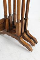 Antique Nest of 3 Mahogany Tables Manner of Gillows (10 of 12)
