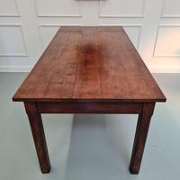 Beautiful Country Farmhouse Cherrywood Table C1850 (4 of 5)