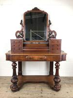 Victorian Mahogany Duchess Dressing Table (15 of 21)