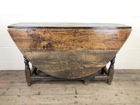18th Century Oak Gateleg Table (2 of 10)