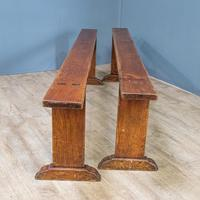 Pair of Cherrywood Benches (10 of 13)