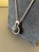 "Danish Silver ""Moon"" Pendant. By Kurt Nielsen (3 of 4)"