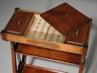 Attractive & Slender Mid 19th Century Mahogany Tricoteuse (7 of 8)