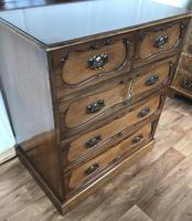 Edwardian Mahogany Chest of Drawers (9 of 13)