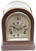 Mahogany & Bevelled Glass W&H Mantel Clock Dual Chiming Musical Bracket Clock Chiming on 8 Coiled Gongs (2 of 10)