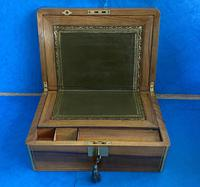 Victorian Brassbound Walnut Writing Slope (12 of 14)