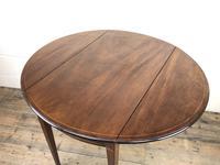 Georgian Inlaid Mahogany Drop Leaf Table (9 of 16)